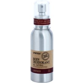Sportique Wellness Lavender natürliches Deodorant im Spray  100 ml