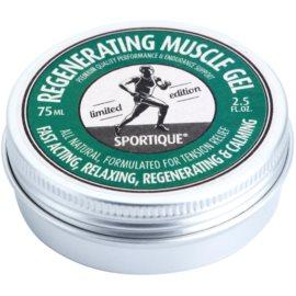 Sportique Sports Limited Edition regenerationsgel gegen verspannte Muskeln für Sportler  75 ml