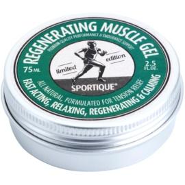 Sportique Sports Limited Edition  gel regenerare pentru mușchii încordați pentru sportivi  75 ml