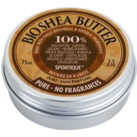 Sportique Wellness Pure tiszta shea vaj  75 ml