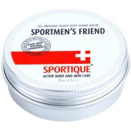Sportique Sports blazam na ruky pre suchú namáhanú pokožku pre športovcov  75 ml