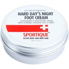Sportique Sports revitalizační krém na popraskaná chodidla  75 ml
