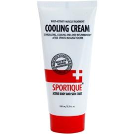 Sportique Sports chladivý masážní krém na svaly a klouby  100 ml