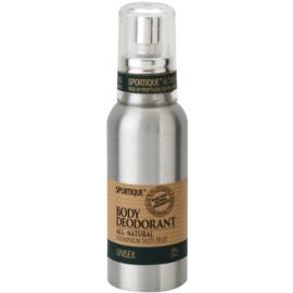 Sportique Wellness Unisex prírodný dezodorant v spreji  100 ml