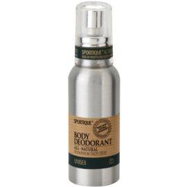 Sportique Wellness Unisex természetes spray dezodor  100 ml
