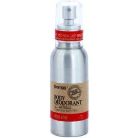 Sportique Wellness Wild Rose natürliches Deodorant im Spray  100 ml