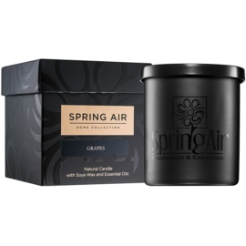 Spring Air Home Collection Grapes Duftkerze  235 ml