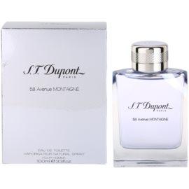 S.T. Dupont 58 Avenue Montaigne eau de toilette férfiaknak 100 ml