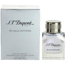 S.T. Dupont 58 Avenue Montaigne eau de toilette férfiaknak 30 ml