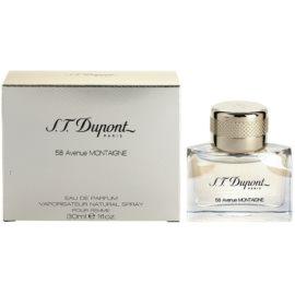 S.T. Dupont 58 Avenue Montaigne eau de parfum nőknek 30 ml