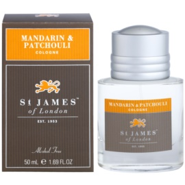 St. James Of London Mandarin & Patchouli colonia para hombre 50 ml