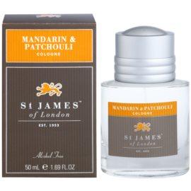 St. James Of London Mandarin & Patchouli kölnivíz férfiaknak 50 ml