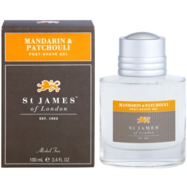St. James Of London Mandarin & Patchouli gel after-shave pentru barbati 100 ml