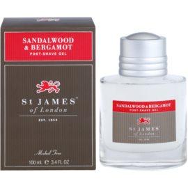 St. James Of London Sandalwood & Bergamot After Shave Gel for Men 100 ml