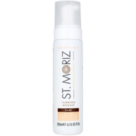 St. Moriz Self Tanning Self - Tanning Mousse Color Dark  200 ml