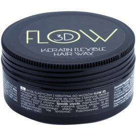 Stapiz Flow 3D modelujący wosk  do włosów z keratyną  100 g