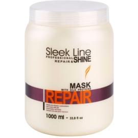 Stapiz Sleek Line Repair Vernieuwende Masker  voor Beschadigd, Chemisch Behandeld Haar   1000 ml