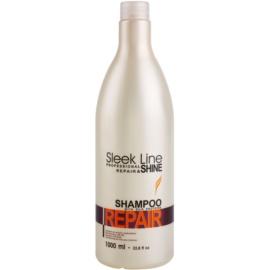 Stapiz Sleek Line Repair obnovitveni šampon za poškodovane in barvane lase  1000 ml