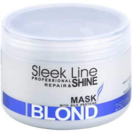 Stapiz Sleek Line Blond маска  за руса и сива коса  250 мл.