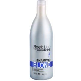 Stapiz Sleek Line Blond šampon za blond in sive lase  1000 ml