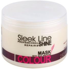 Stapiz Sleek Line Colour hydratační maska pro barvené vlasy  250 ml