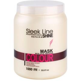 Stapiz Sleek Line Colour Hydratisierende Maske für gefärbtes Haar  1000 ml