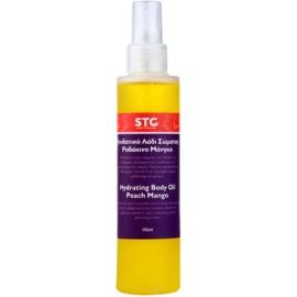 STC Body hydratační tělový olej ve spreji broskev a mango  150 ml