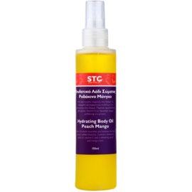 STC Body óleo corporal hidratante em spray pêssego e manga  150 ml