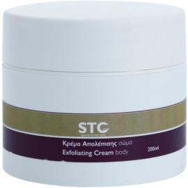 STC Body exfoliační peelingový krém na tělo  200 ml