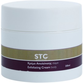 STC Body creme esfoliante para corpo  200 ml