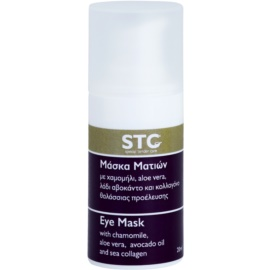 STC Face beruhigende und hydratisierende Maske für die Augen  20 ml