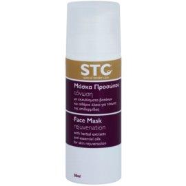 STC Face verjüngende Maske für Gesicht, Hals und Dekolleté  50 ml