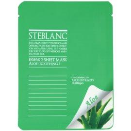 Steblanc Essence Sheet Mask Aloe beruhigende Hautmaske  20 g