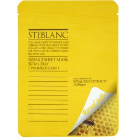 Steblanc Essence Sheet Mask Royal Jelly masca pentru fata antirid  20 g