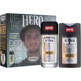 STR8 Hero zestaw upominkowy  żel pod prysznic 250 ml + dezodorant z atomizerem 85 ml