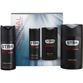 STR8 Original zestaw upominkowy IV. dezodorant w sprayu 150 ml + żel pod prysznic 250 ml