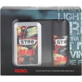 STR8 Rebel coffret cadeau II. eau de toilette 50 ml + déodorant en spray 150 ml