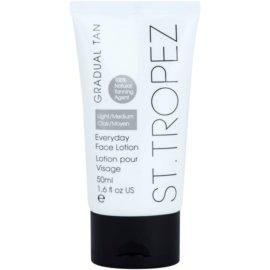 St.Tropez Gradual Tan Getinte Hydtarerende Gezichtscrème voor Gelijkmatige Bruining   50 ml