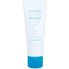 St.Tropez Self Tan Sensitive tonirana krema za obraz z učinkom postopne porjavitve  50 ml