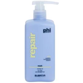 Subrina Professional PHI Repair máscara renovadora para cabelo danificado  500 ml