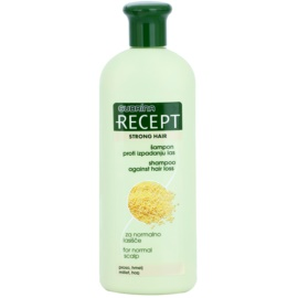 Subrina Professional Recept Strong Hair champô anti-queda capilar Millet & Hop 400 ml