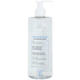 SVR Physiopure agua micelar limpiadora suave para rostro y contorno de ojos  400 ml