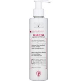 SVR Sensifine beruhigende Reinigungsmilch für empfindliche Haut mit der Neigung zum Erröten  200 ml