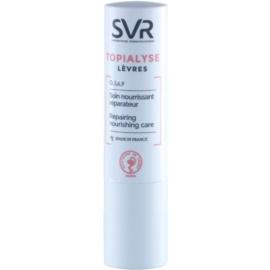 SVR Topialyse odzywczy balsam do ust o działaniu regenerującym  4 g