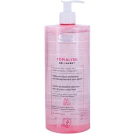 SVR Topialyse gel de limpeza para peles secas e sensíveis  1000 ml