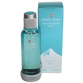Swiss Army Mountain Water Woman Eau de Toilette pentru femei 100 ml