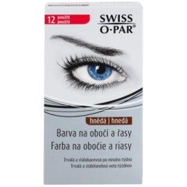 Swiss O.Par Color Kit barva na obočí a řasy odstín Brown