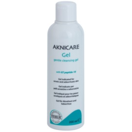 Synchroline Aknicare  gel limpiador para pieles acnéicas y seborreicas  200 ml