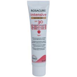 Synchroline Rosacure Intensive  tönende Emulsion für empfindliche Haut mit Neigung zu Rötungen SPF 30 Farbton Clair  30 ml