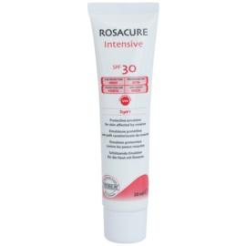 Synchroline Rosacure Intensive ochranná emulze pro citlivou pleť se sklonem ke zčervenání SPF 30  30 ml